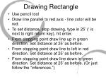 drawing rectangle