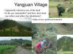 yangjuan village