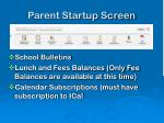 parent startup screen7