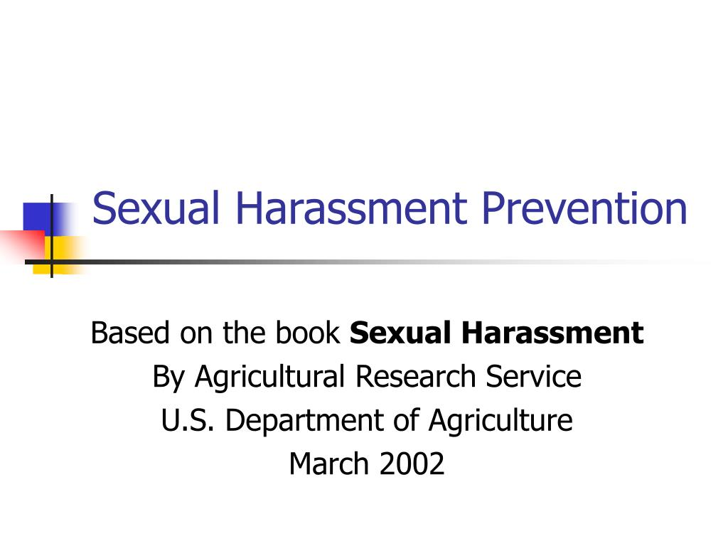sexual harassment prevention l.