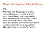 canto iii epis dio in s de castro52