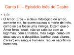 canto iii epis dio in s de castro55