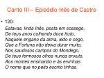 canto iii epis dio in s de castro57