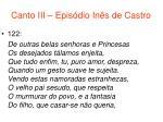 canto iii epis dio in s de castro59