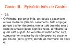 canto iii epis dio in s de castro60