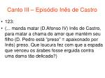 canto iii epis dio in s de castro62