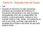 canto iii epis dio in s de castro64
