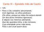 canto iii epis dio in s de castro65