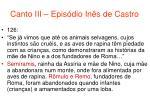 canto iii epis dio in s de castro68
