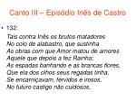 canto iii epis dio in s de castro73