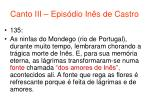canto iii epis dio in s de castro77