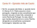 canto iii epis dio in s de castro79