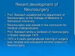 recent development of neurosurgery9