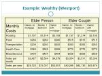 example wealthy westport