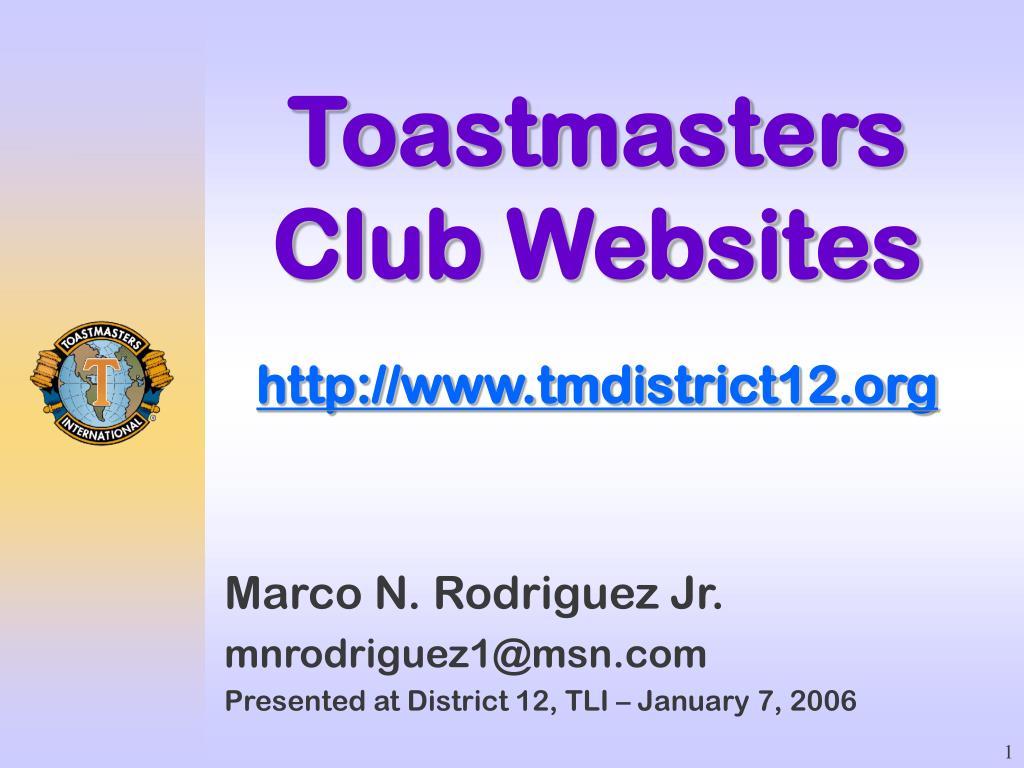 toastmasters club websites http www tmdistrict12 org l.