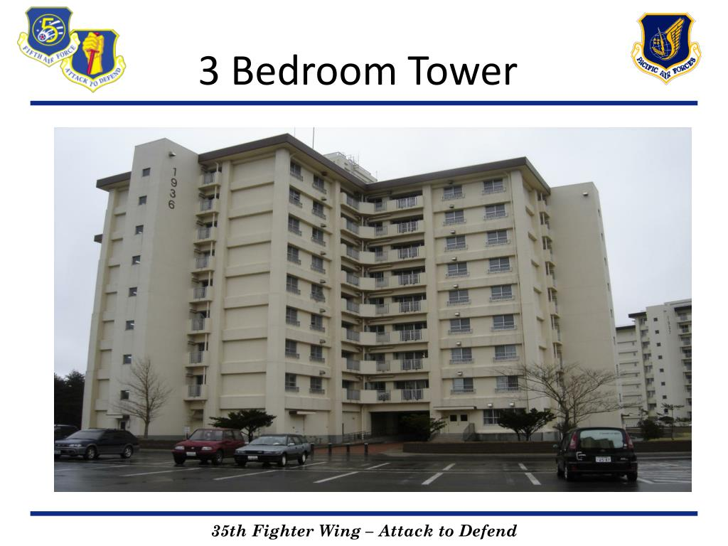 3 bedroom tower l.