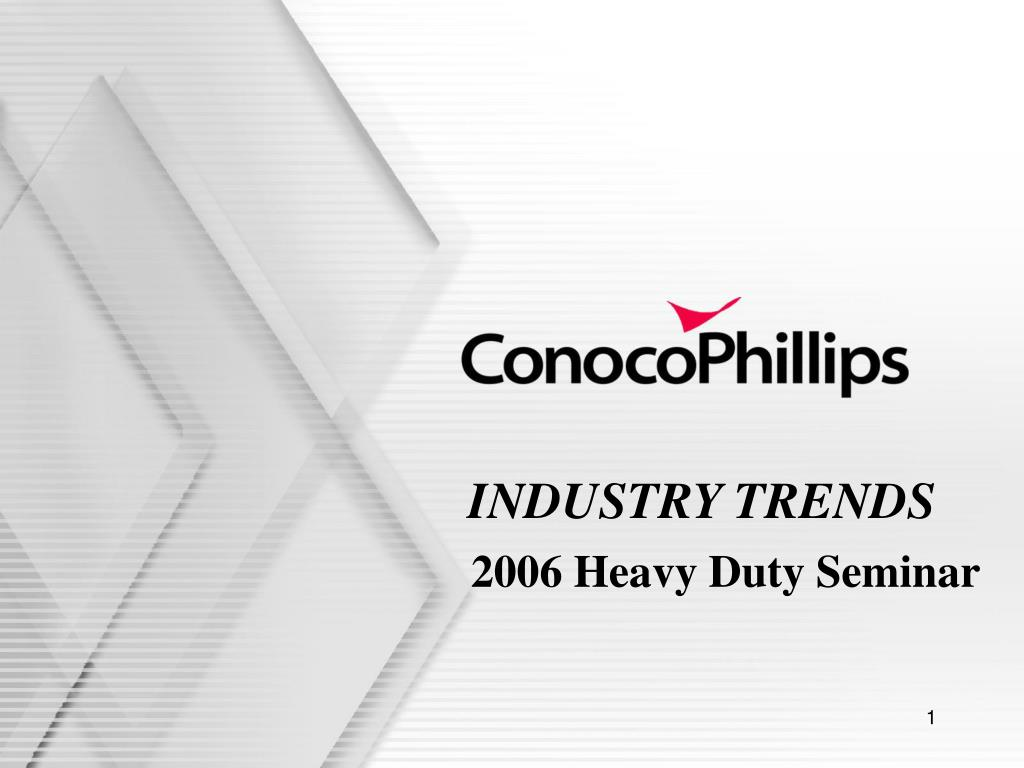 industry trends l.