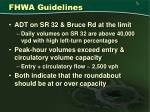 fhwa guidelines