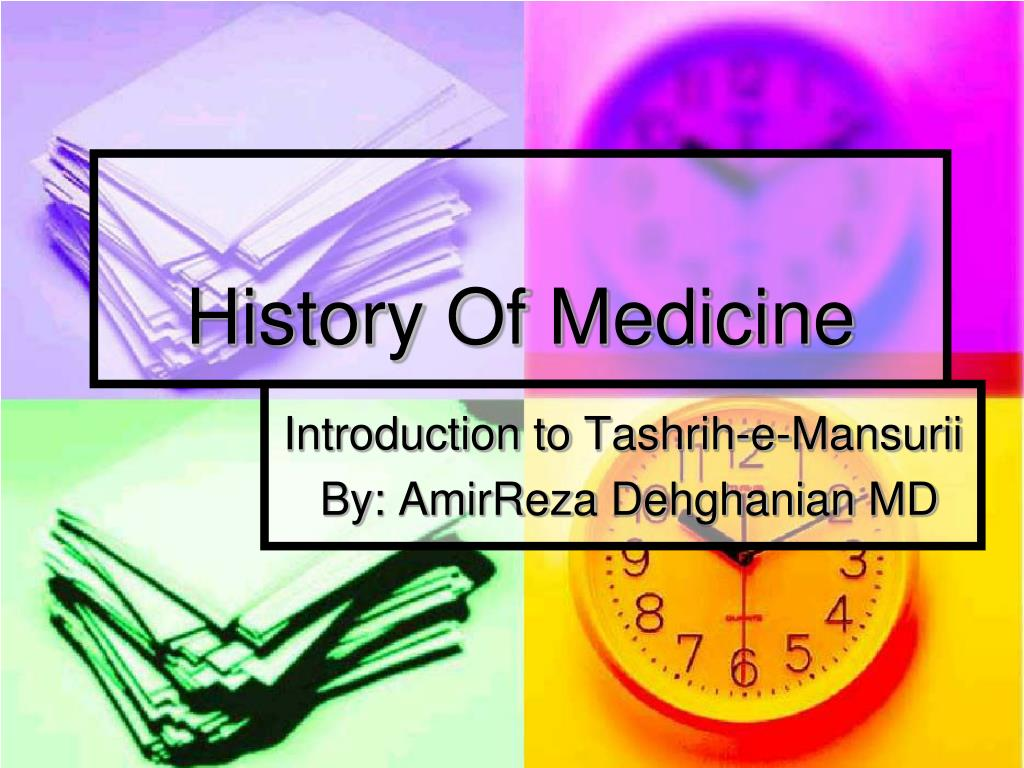 history of medicine l.
