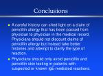 conclusions64