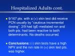 hospitalized adults cont31
