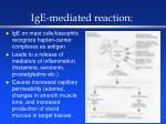 ige mediated reaction