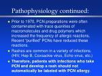 pathophysiology continued10