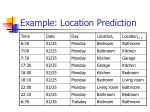 example location prediction9