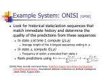 example system onisi gp00