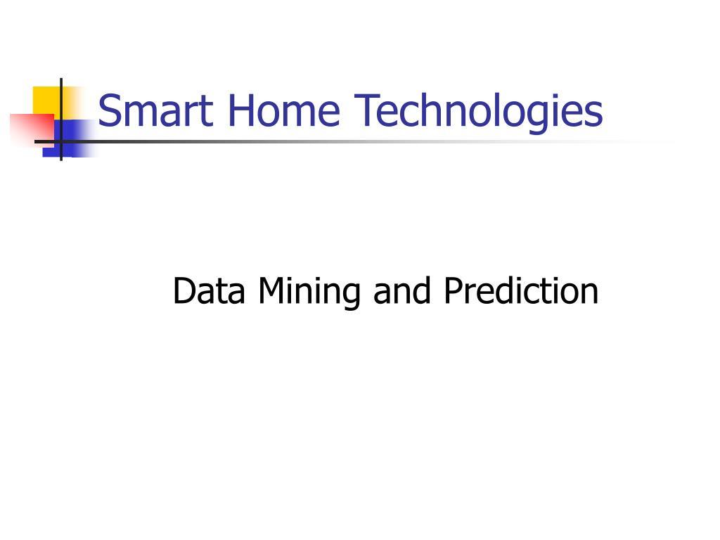 smart home technologies l.