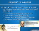 managing your customers