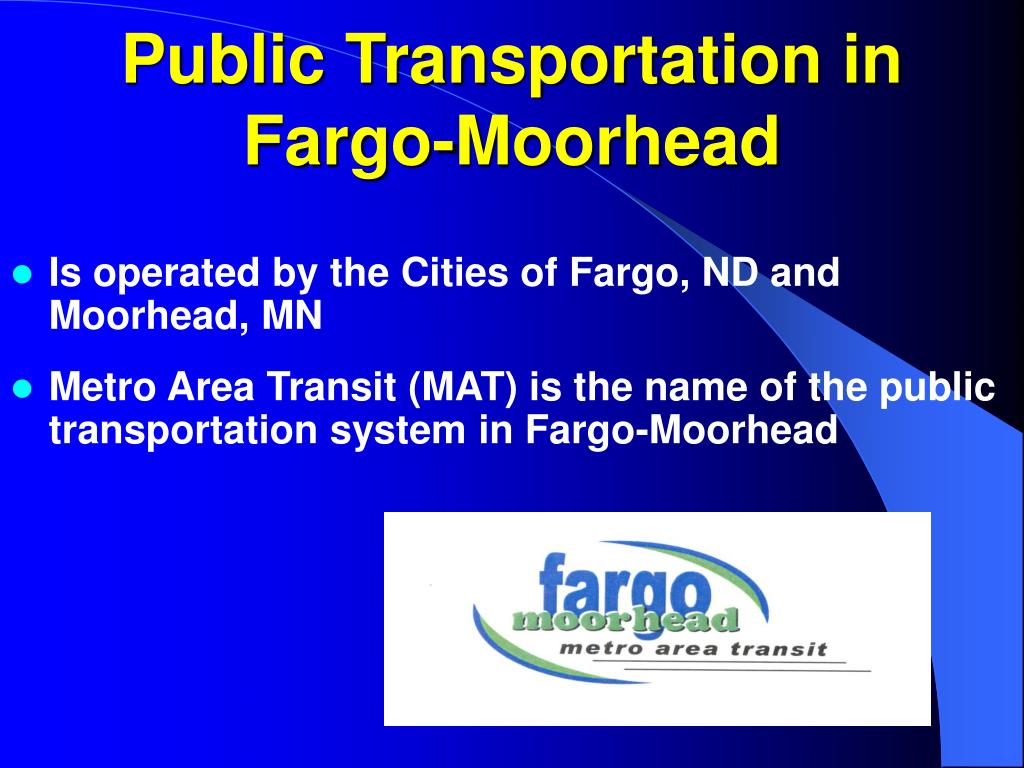 public transportation in fargo moorhead l.