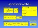 aerodynamic analysis13