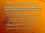 roa proposal preparation15