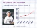 the graying of the u s population