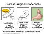 current surgical procedures