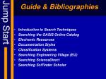 guide bibliographies