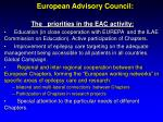 european advisory council14