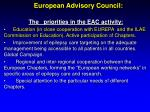 european advisory council6