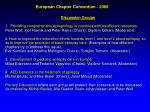 european chapter convention 2006