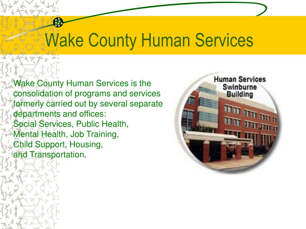 wake county human services l.