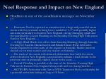 noel response and impact on new england