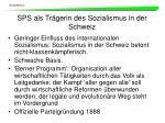 sps als tr gerin des sozialismus in der schweiz