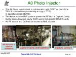 a0 photo injector