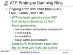 atf prototype damping ring14