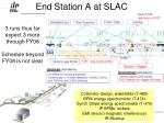end station a at slac