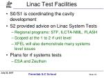 linac test facilities