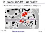 slac esa rf test facility
