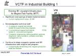 vctf in industrial building 1