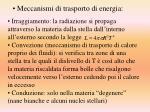 meccanismi di trasporto di energia